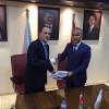 توقيع أتفاقية شركة المناصير للزيوت والمحروقات مع شركة البوتاس العربية