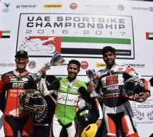 المنتخب السعودي يحقق المركز الأول في بطولة الإمارات للدراجات النارية