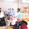 بنك القاهرة عمان يشارك في فرز التبرعات لبنك الملابس