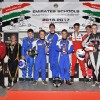 فريق مدرسة جميرا للتخاطب بالإنجليزية-المرابع العربية يفوز بالجولة الثالثة من بطولة مدارس الإمارات للكارتينغ