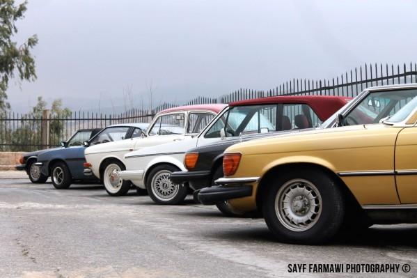 مجموعة محبي السيارات الكلاسيكية في الاردن تنظم حفل افطار في مطعم كان زمان