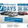 فولكس واجن أبو ظبي: حملة ترويجية إستثنائية لمدة أسبوع من 29 يناير ولغاية 4 فبراير على جميع سيارات فولكس واجن الجديدة والمستعملة