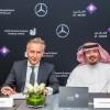 دايملر للمركبات التجارية الشرق الأوسط وشمال إفريقيا والجفالي للمعداتالصناعية (جيبكو) تستكملان صفقة رئيسية تشمل 539 شاحنة من مرسيدس-بنز مع شركة الخالدي السعودية