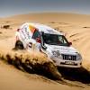 سائق برنامج الناشئين للراليات من أبوظبي للسباقات منصور بالهلي يفرض سيطرته على فئة الانتاج التجاري (تي2)