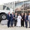 دايملر للمركبات التجارية الشرق الأوسط وشمال إفريقيا وشركة الإمارات للسيارات تسلّمان 27 شاحنة  مرسيدس-بنز زيتروس إلى مؤسسة سهيل المزروعي