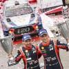 """احتفى بالفوز السادس والتتويج المزدوج السابع في بطولة العالم للراليات منذ 2014  """"هيونداي موتورسبورت"""" يُتوّج بالمركزين الأول والثاني في رالي بولندا"""
