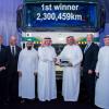 دايملر للمركبات التجارية الشرق الأوسط وشمال إفريقيا تحتفل بمليونير أكتروس للأميال