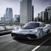 الظهور العالمي الأول للسيارة الاختبارية Project ONE من مرسيدس-AMG  مرسيدس-AMG تُدخل تقنيات الفورمولا 1 إلى سيارات الركاب على الطرقات