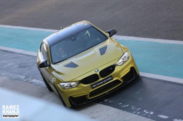 شركة ابوظبي موتورز (وكلاء بي ام دبليو في ابوظبي) تنظم فعالية خاصة لقيادة الموديلات الرياضية من بي ام دبليو الفئة M
