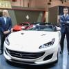 فيراري والطاير للسيارات يطلاقا سيارة فيراري Portofino في الشرق الأوسط في معرض دبي الدولي للسيارات