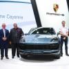 """بورشه تكشف النقاب عن أربعة طرازات جديدة على الساحة الإقليمية  بورشه """"كاين"""" الجديدة تُبصر النور في معرض دبي الدولي للسيارات"""