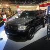 """سيارتان معدلتان من طراز """"نيسان باترول سفاري"""" في معرض دبي الدولي للسيارات"""