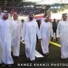 سمو الشيخ محمد بن راشد يزور معرض دبي الدولي للسيارات