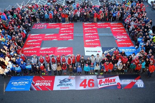مهرجان نيسمو يحتفي بسيارة «جي تي آر» المفضلة للجماهير في حلبة فوجي في اليابان