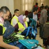 """مبادرة """"مجتمع متكافل"""" لرجل الأعمال عامر الخياط يرعى مبادرة حقيبتي المدرسية في البادية الجنوبية مع إذاعة """"حياة اف ام"""""""