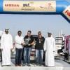 نيسان تقدم مستويات عالية من الأداء في منافسات سباق  «باها دبي الدولي»