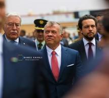 """جلالة الملك عبدالله الثاني يفتتح معرض معدات قوات العمليات الخاصة """"سوفكس 2018"""""""