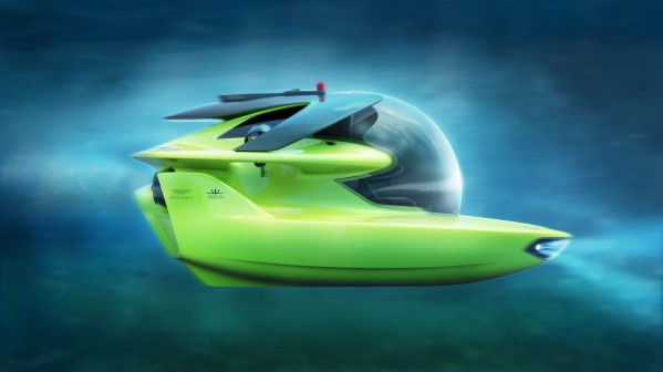 غواصة Project Neptune: شراكة استثنائية بين Aston Martin وTriton