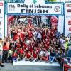 اللبناني روجيه فغالي يحطّم رقمه القياسي:14 لقباً في سباق بلده
