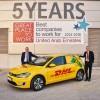 دي إتش أل إكسبرس تقود حلول الطاقة الفعّالة بإطلاق سيارات كهربائية جديدة في دبي