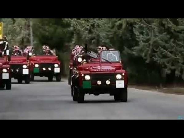 مواكب صاحب الجلالة الهاشمية الملك عبد الله الثاني بن الحسين المعظم حفظه الله ورعاه