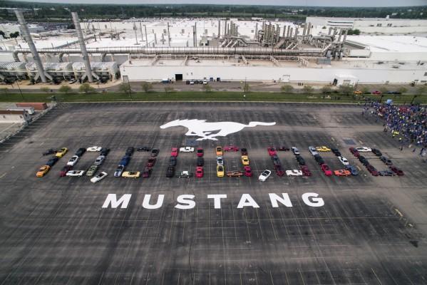 فورد موستانج، السيارة المفضّلة في الشرق الأوسط، تحتفل بإنتاج سيارة الحصان الرياضيّة رقم 10 مليون