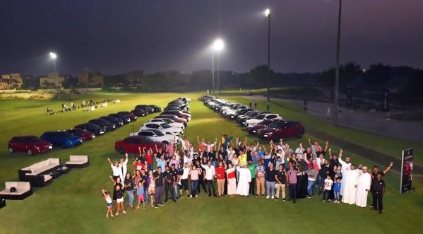 قرقاش ألفا روميو تنظم فعالية خاصة للقيادة  احتفالاً بوصول سيارة فور سي سبايدر إيطاليا