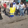 شخصيتان غريبتان تجوبان شوارع العاصمة عمّان