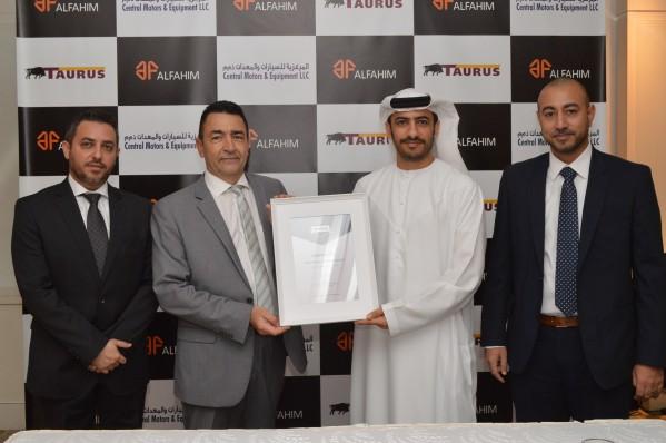 المركزية للسيارات والمعدات تكشف عن مجموعة إطارات TAURUS الأوروبية المشهورة لأول مرة في الإمارات العربية المتحدة