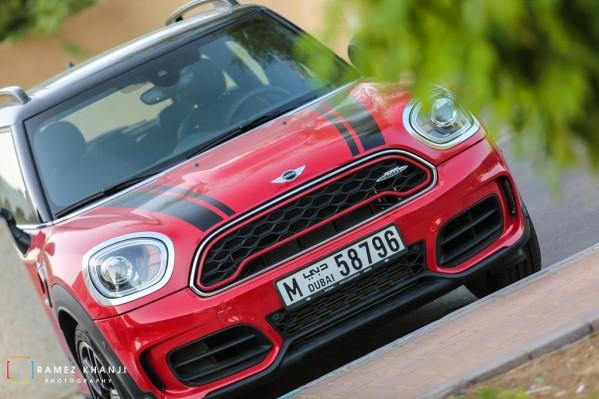 MINI JOHN COOPER WORKS COUNTRYMAN الجديدة: سيارة بمنتهى الرياضية والمرونة