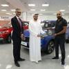 'إم جي' تقدّم مركبة MG ZS الجديدة كلّياً إلى الفائز المحظوظ في المسابقة الخاصّة بمعرض 'جيتكس شوبر'