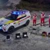"""نسخة معدّلة من """"لاند روڤر ديسكڤري"""" ضمن أسطول فريق الاستجابة لحالات الطوارئ في الصليب الأحمر"""