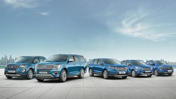 مجموعة كبيرة من السيارات المتعدّدة الاستعمالات SUV من فورد تزخر بالقدرات الهائلة والمرونة الاستثنائيّة لملاءمة أيّ نمط حياة