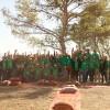 """""""المركزية"""" تنظم فعالية لتنظيف غابة وصفي التل بمشاركة فريق عملها"""
