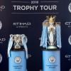 نادي مانشستر سيتي يختتم الجولة العالمية لكؤوس الموسم خلال مباراة ضمن الدوري الإنكليزي على استاد الاتحاد