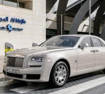 رولز-رويس جوست 2019 تنضمّ إلى أسطول السيارات الفاخرة لضيوف المجلس الخاص بكبار الشخصيات في مطار دبي الدولي