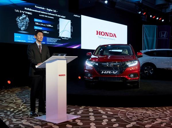 هوندا تُطلق سيارة HR-V الجديدة كلياً لإكمال مجموعة باور أوف 3 من السيارات الرياضية متعددة الاستخدامات