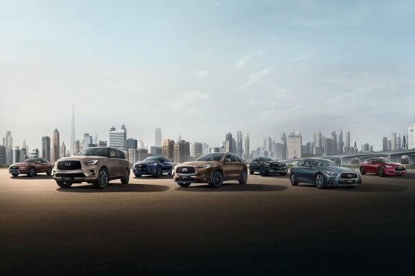 """اشترِ سيارة """"إنفينيتي"""" جديدة وتمتع بأفضل العروض من """"العربية للسيارات"""""""
