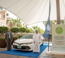 الفطيم تويوتا والمدينة للأجرة في الشارقة تلتزمان بتحسين جودة ونقاء الهواء في الإمارات