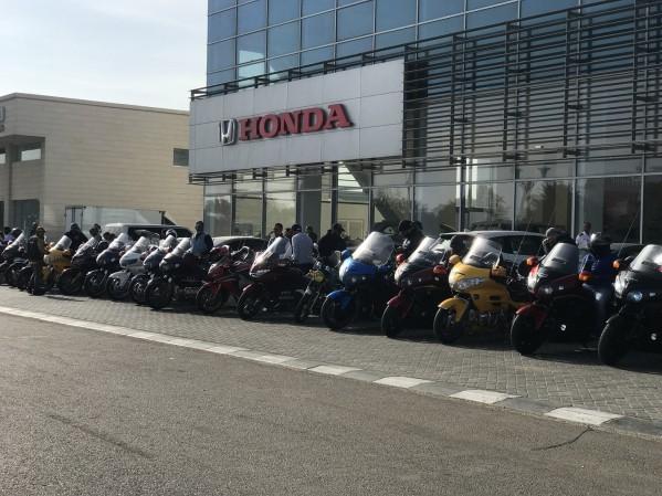الفطيم هوندا تستضيف فعالية بورن تو رايد السنوية لركوب الدراجات النارية…جولة بالدراجات النارية إلى جزيرة الحديريات في أبوظبي