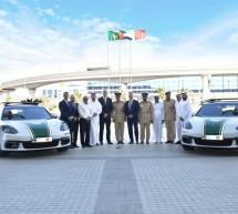 يقوم مركز بورشه دبي بتسليم باناميرا 4 إس سبورت توريزمو إلى شرطة دبي