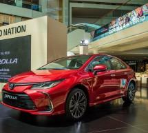 أول سيارة تويوتا كورولا هايبريد كهربائية على الإطلاق تنضم لمجتمع الهايبريد في الإمارات وترسي معاييراً جديدة للسيارات الصديقة للبيئة