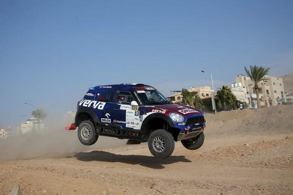السائق برزيغونسكي يفوز بالمرحلة الخاصة الاستعراضية  لباها الأردن 2019