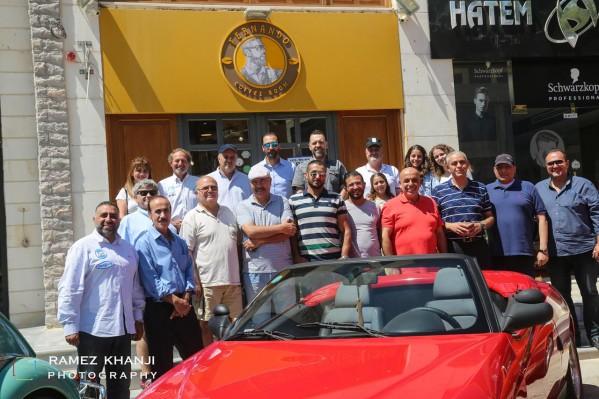 تجمع نادي السيارات الكلاسيكية الأردني بضيافة فيرناندو كوفي رووم  (FERNANDO COFFEE ROOM)