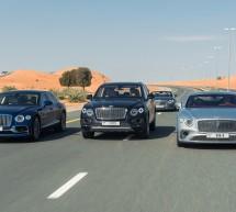 Bentley تختتم احتفالاتها الخاصّة بالمئوية الأولى عبر تجمّع مميّز لمئة سيارة في الإمارات العربية المتحدة