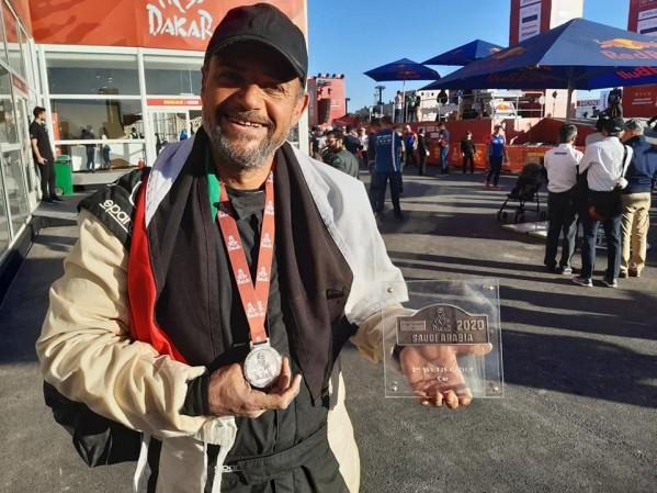 معاذ العرجا .. أول أردني يشارك في رالي داكار العالمي محققاً المركز الثاني في فئة T3s