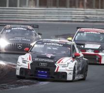 أودي سبورت تحتل المركزين الثاني والثالث على منصة التتويج ومركز الصدارة ضمن فئة تي سي آر في سباق دبي 24 ساعة