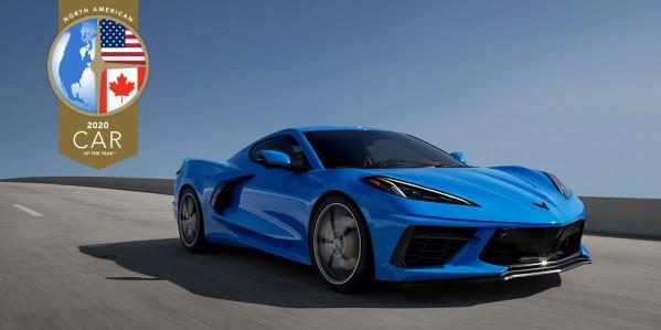 شفروليه كورفيت تفوز بجائزة أفضل سيارة في أمريكا الشمالية لعام 2020  ستينغراي 2020 تثير إعجاب نخبة مستقلة من الصحفيين المرموقين