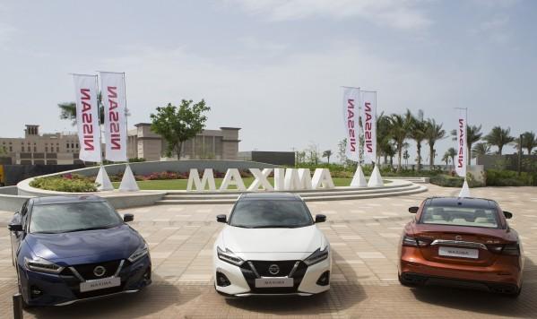 """نيسان ماكسيما تفوز بجائزة """"سيارة العام"""" عن فئة سيارات السيدان في جائزة الشرق الأوسط للسيارات 2020"""