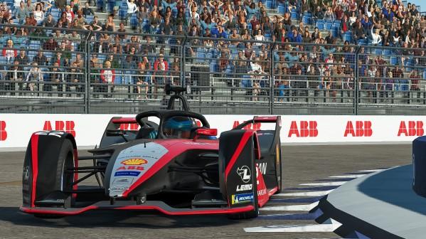 """فريق """"نيسان إي. دامس"""" يفوز في الجولة النهائية من تحدي سباق """"أي بي بي فورمولا إي"""" من المنزل"""